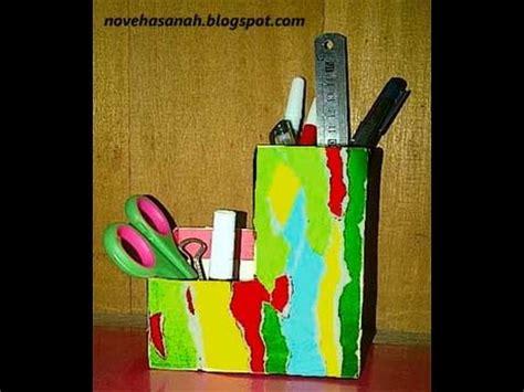 Teh Celup Kotak cara membuat tempat pensil dari kotak teh celup