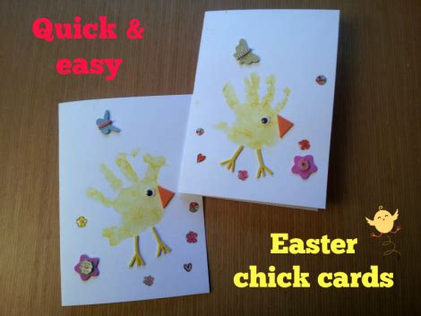 easy easter cards for toddlers to make and easy easter cards made with the toddler