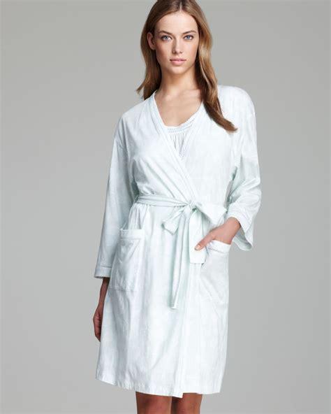 Dress Carol Wash carole hochman seashell printed robe in blue lyst