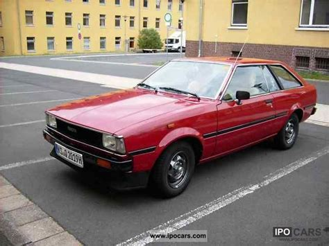 Toyota Cars 1980s 1980 Toyota Corolla Car Photo And Specs
