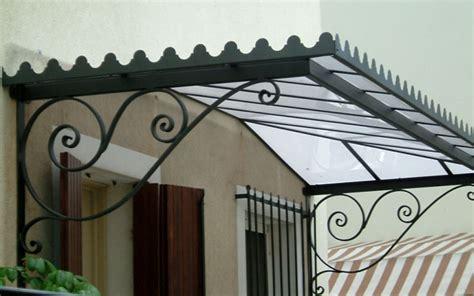 tettoie in ferro battuto per esterni pensiline in ferro mestre venezia officina