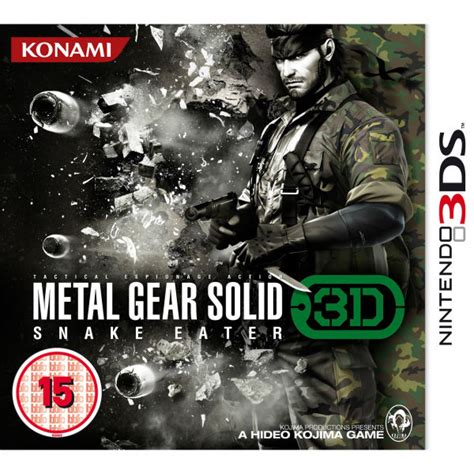 Sho Metal Ukuran Kecil metal gear solid snake eater 3ds foto gambar wallpaper 69