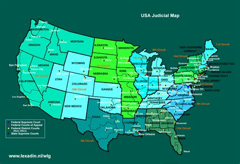 us circuit court map click more images