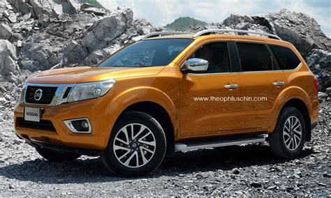 nissan np300 navara based seven seater suv coming