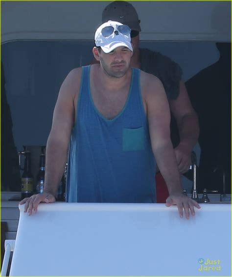 And Tony Romo Getaway To Mexico Before The Playoffs by Chace Shirtless Cabo Trip With Rachelle Goulding