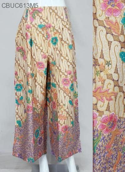 Celana Kulot Panjang Katun Murah B30417005mot3bru Bawahan Batik celana kulot carisa motif parang bawahan rok murah