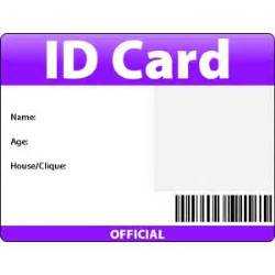 id card blank credit to delphine polyvore