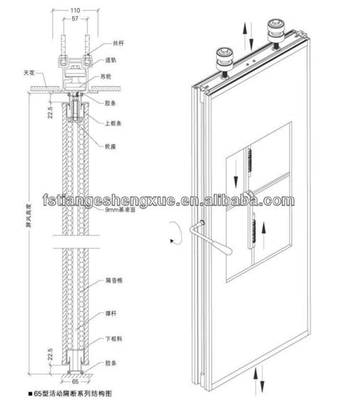 Sketches A Corrugated Bulkhead by Soundproof Movable Partition Sliding Doors Interior Room