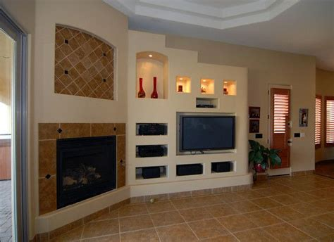 Drywall Designs Living Room by Built In Shelves With Drywall Thinking About Living Room Here I The Softer Look