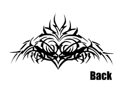 randy orton back tattoo pics for gt randy orton tribal