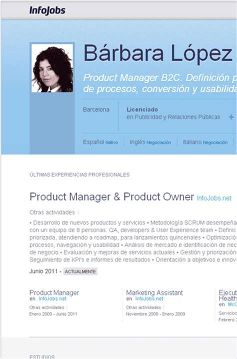 Diseño Curricular Por Competencias Ejemplo Truco Para Encontrar Trabajo Hazte Visible Con El Perfil P 250 Blico De Infojobs El De
