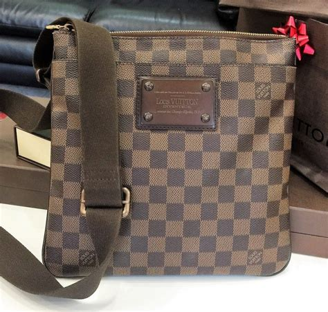 Lv Crossbody louis vuitton damier bag lv pochette plate bag