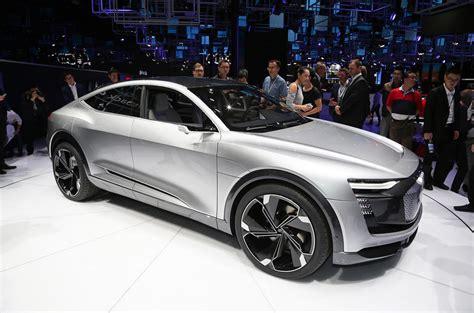 audi  tron sportback concept debuts  shanghai autocar
