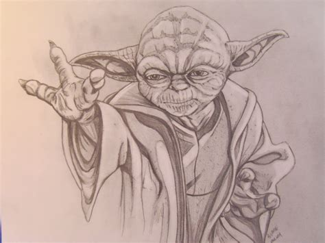 Drawing Yoda by The Gallery For Gt Yoda Lego