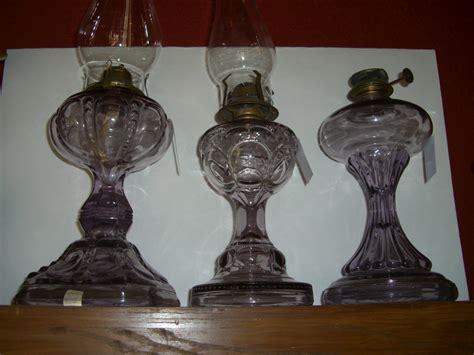 Glass Kerosene For Sale Antique Amethyst Kerosene Ls Antique Glass Items