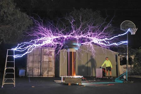 electrickery: high voltage sculptures oddee