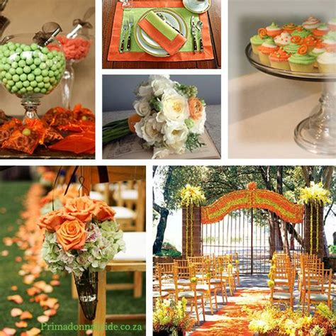 64 best images about orange and green wedding ideas on wedding centerpieces and