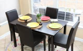 Black Kitchen Table Bench Black Kitchen Table And Chairs Bench Arisandhi
