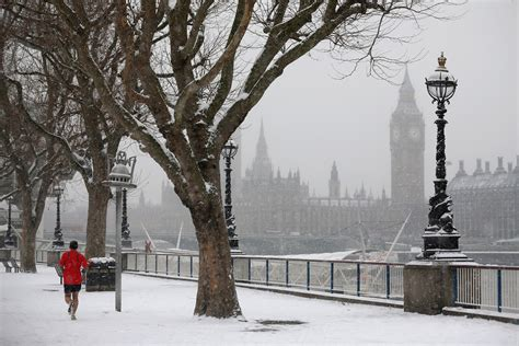London weather: Capital set for cold snap as Arctic blasts ...