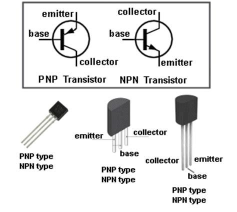 gambar transistor npn dan pnp feby s