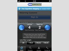 1-800 Contacts App for iPhone Review - The App Times 1 800 Contacts Review