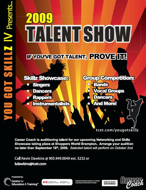 talent show flyers ideas images