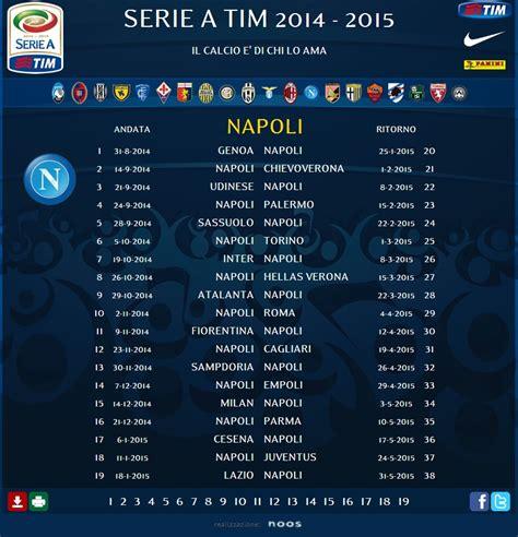 Calendario Serie A Napoli Calendario Serie A 2014 15 1 176 Giornata Genoa Napoli