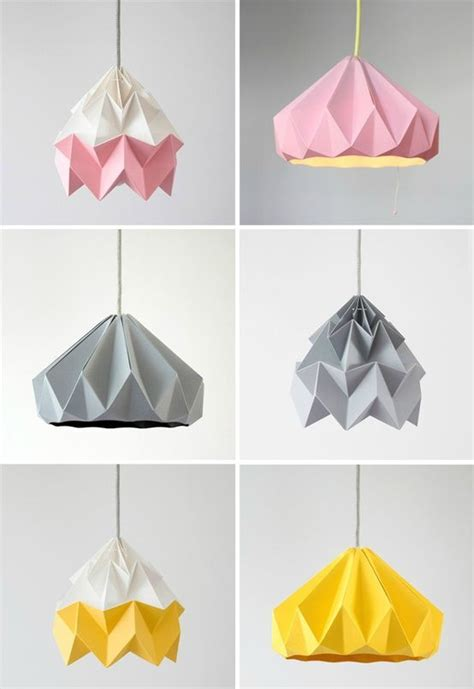 Moth Origami Lshade - 1000 ideas about luminaire enfant on