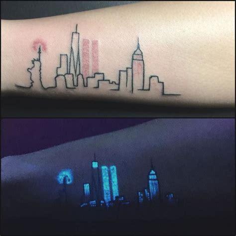 glow in the dark skyline tattoo 25 great ideas about uv tattoo on pinterest