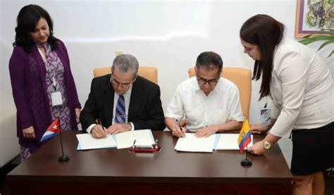 cuba educational activities cuba and ecuador sign agreement on education