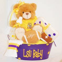 Baby Gifts For Tiger And Kevin by 1000 Images About Lsu Baby Shower On Lsu Lsu