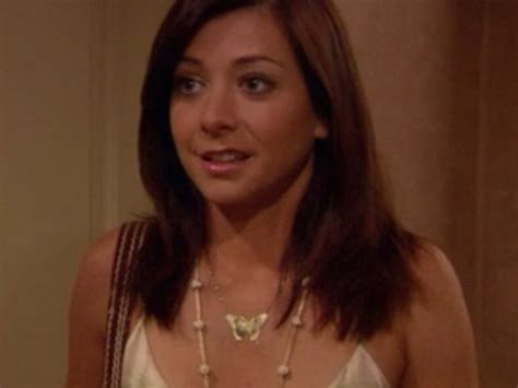 Alyson Hannigan At How I Met Your by Jewels Butterfly Necklace Alyson Hannigan How I Met