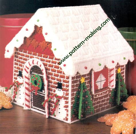 pattern gingerbread house free gingerbread goodie house pattern making com