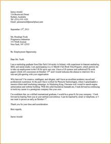 Visa Application Letter Exle Ireland Cover Letter For Media