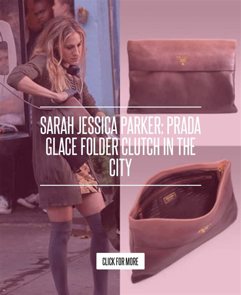 Prada Glace Folder Clutch In The City by Prada Glace Folder Clutch In The City