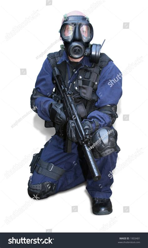 tactical officer 3 stock photo 1903481
