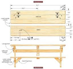Free Blueprints by Wooden Picnic Bench Plans Pdf Woodworking