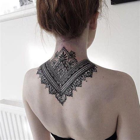 tattoo on neck pinterest mandala back tattoo on tattoochief com mandala