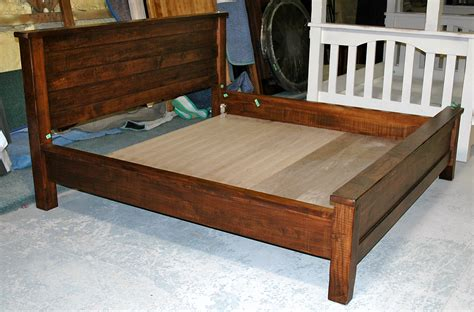 rough bed rough sawn wormy maple bed brices furniture