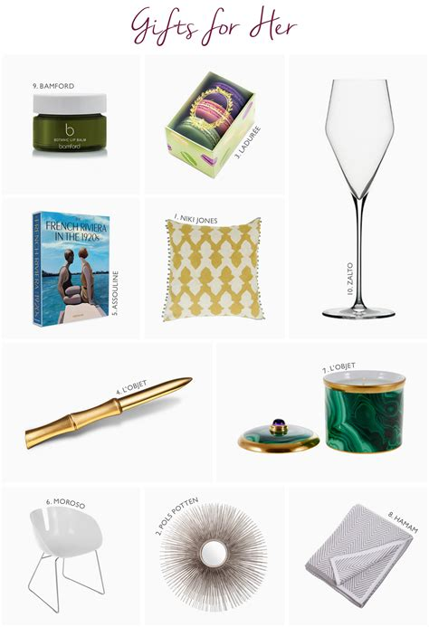 gifts for interior designers mesmerizing top holiday gifts