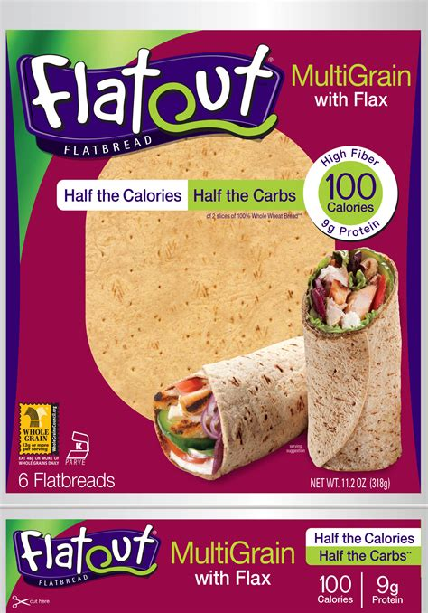 whole grain 100 calorie wrap whole wheat flat bread nutrition facts nutrition ftempo