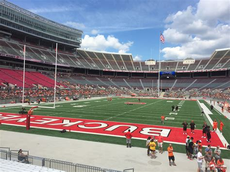 Ohio Stadium Student Section by Ohio Stadium Section 38aa Rateyourseats