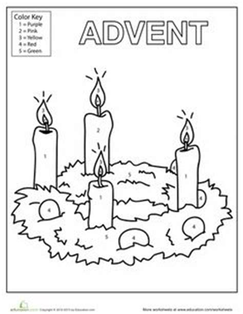 preschool wreath coloring page 1000 images about advent on pinterest jesse tree