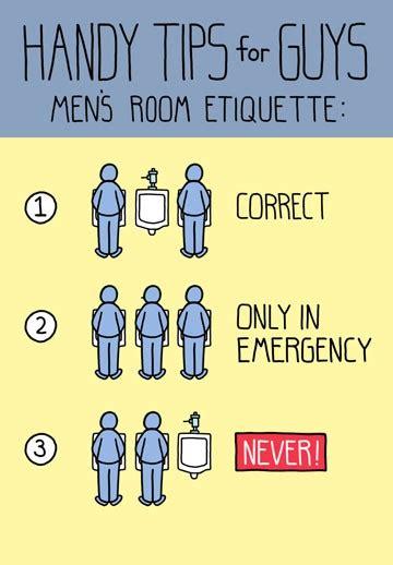 men bathroom rules manly bathroom etiquette funny birthday card greeting