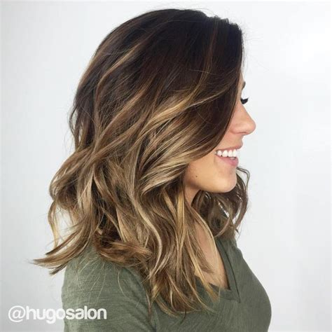 Light Brown Balayage by Balayage Light Brown Hair