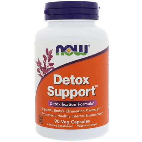 Detox Support Veg Capsules by Now Foods Detox Support 90 Veg Capsules Iherb