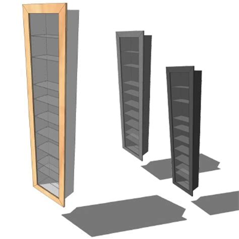 ikea bertby wall cabinet 3versions 3d model formfonts 3d