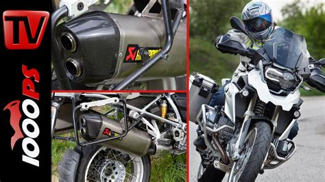 Leistungstuning Motorrad video bmw r 1200 gs 2014 leistungstuning akrapovič