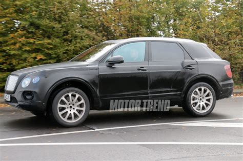 bentley suv 2014 bentley suv prototype continues testing is still nameless