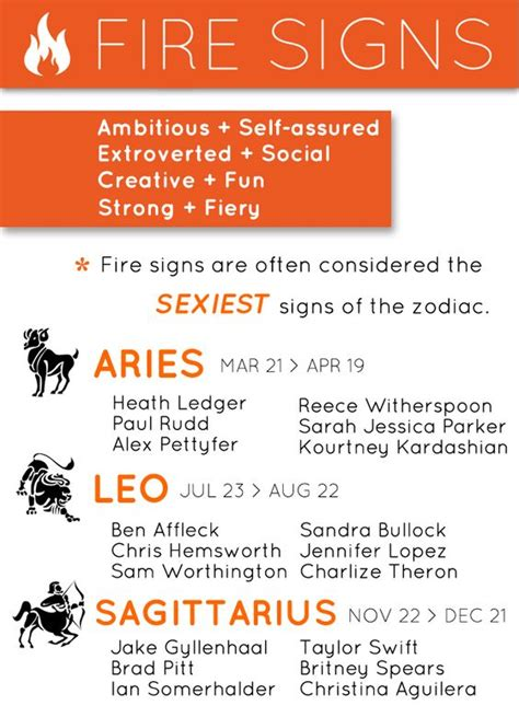 fire signs sagittarius zodiac firesigns sag